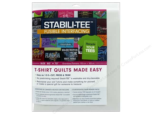 C&T Publishing Interfacing Stabili-TEE Fusible 60 in. x 72 in.