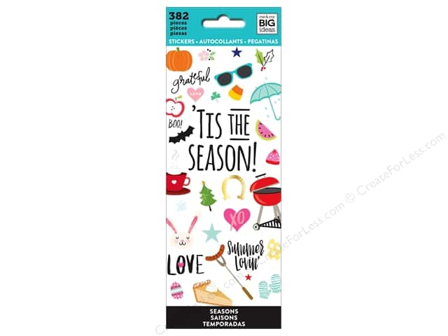 Me&My Big Ideas Sticker Value Pack Tis The Season