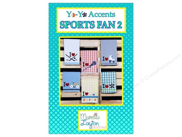 Marcia Layton Designs Sports Fan 2 Pattern