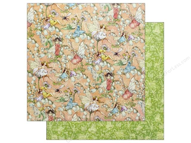 Graphic 45 Fairie Dust Paper 12 in. x 12 in. Pixie Prance (25 pieces)