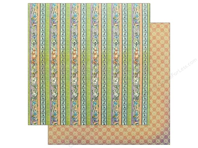 Graphic 45 Fairie Dust Paper 12 in. x 12 in. Daisy Chain (25 pieces)
