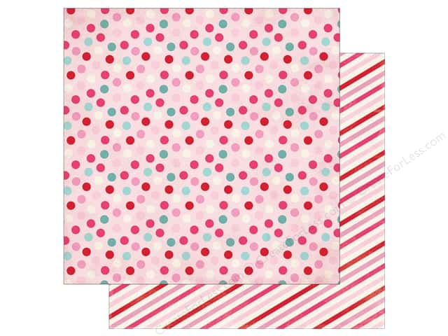 Authentique Lovestruck Paper 12 in. x 12 in. Four (25 pieces)