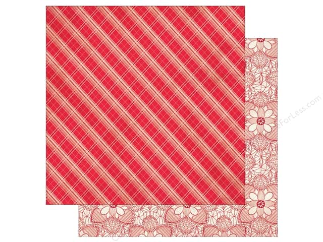 Authentique Lovestruck Paper 12 in. x 12 in.  Five (25 pieces)