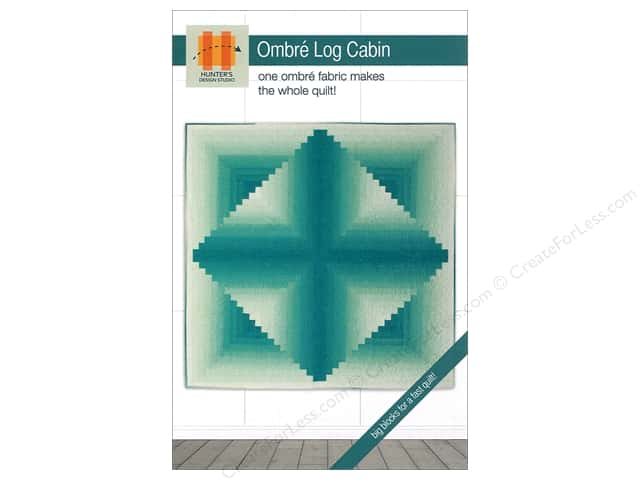 Hunter's Design Studio Ombre Log Cabin Pattern