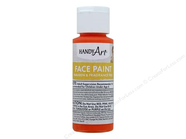 Handy Art Face Paint 2 oz Orange