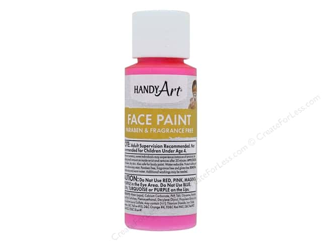 Handy Art Face Paint 2 oz Pink