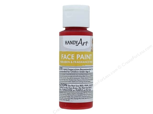 Handy Art Face Paint 2 oz Red