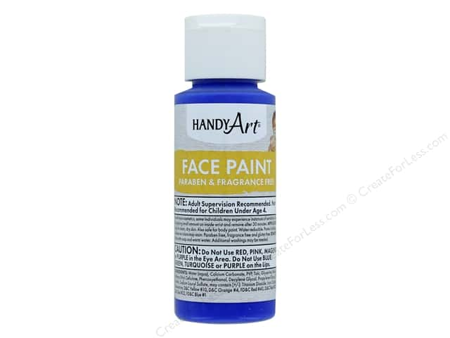 Handy Art Face Paint 2 oz Blue