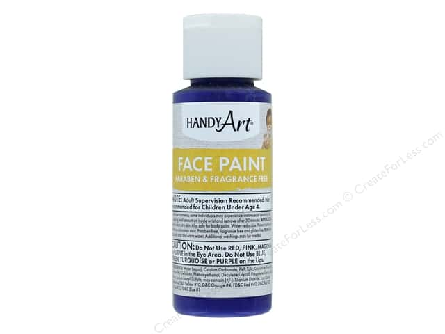 Handy Art Face Paint 2 oz Purple