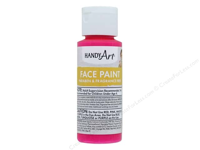 Handy Art Face Paint 2 oz Magenta