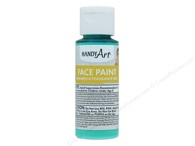 Handy Art Face Paint 2 oz Green