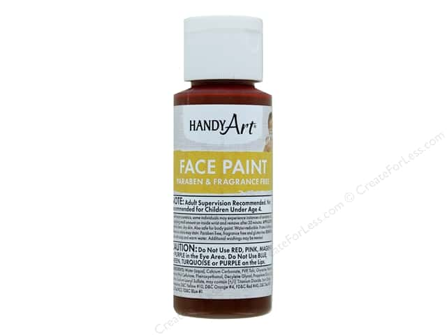 Handy Art Face Paint 2 oz Brown