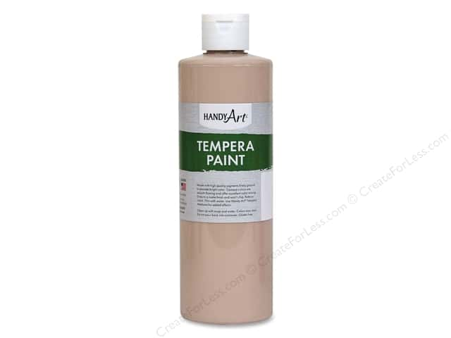 Handy Art Tempra Paint 16 oz Peach