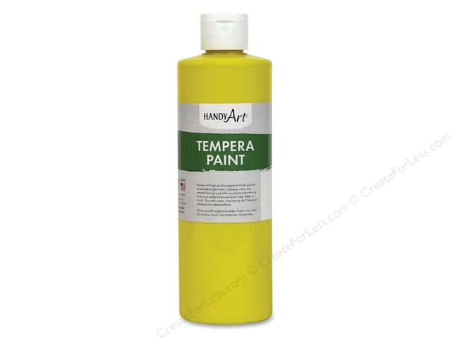 Handy Art Tempra Paint 16 oz. Yellow
