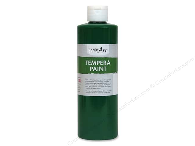 Handy Art Tempra Paint 16 oz Green