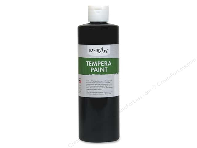 Handy Art Tempra Paint 16 oz. Black