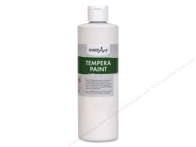 Handy Art Tempra Paint 16 oz. White