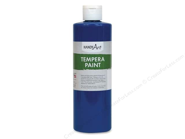 Handy Art Tempra Paint 16 oz Blue