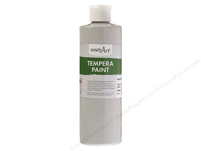 Handy Art Tempra Paint 16 oz. Gray