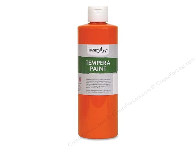 Handy Art Tempra Paint 16 oz Orange