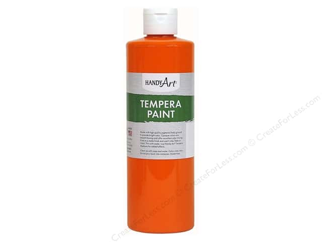 Handy Art Tempra Paint 8 oz. Orange
