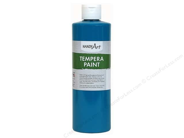 Handy Art Tempra Paint 8 oz. Turquoise