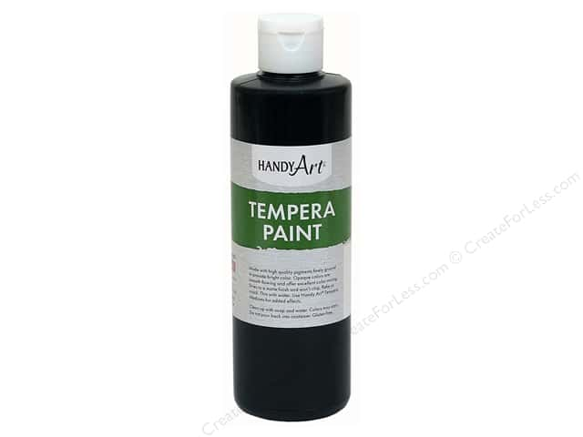 Handy Art Tempra Paint 8 oz. Black