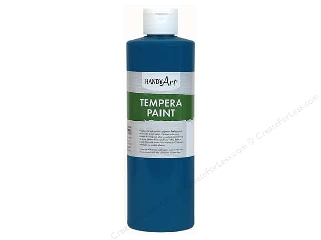 Handy Art Tempra Paint 8 oz. Blue