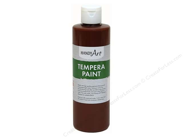 Handy Art Tempra Paint 8 oz. Brown