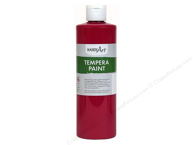 Handy Art Tempera Paint 8 oz. Magenta