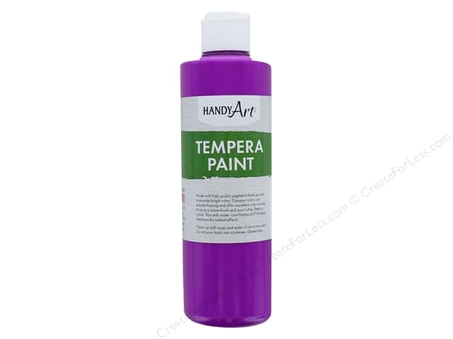 Handy Art Tempra Paint 8 oz. Fluorescent Violet
