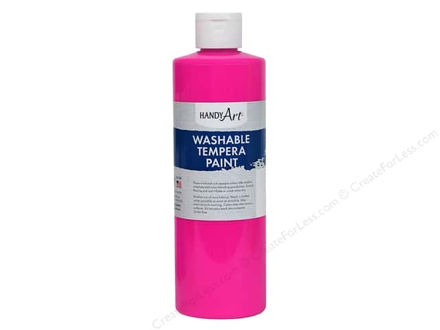 Handy Art Tempra Paint 16 oz. Fluorescent Magenta