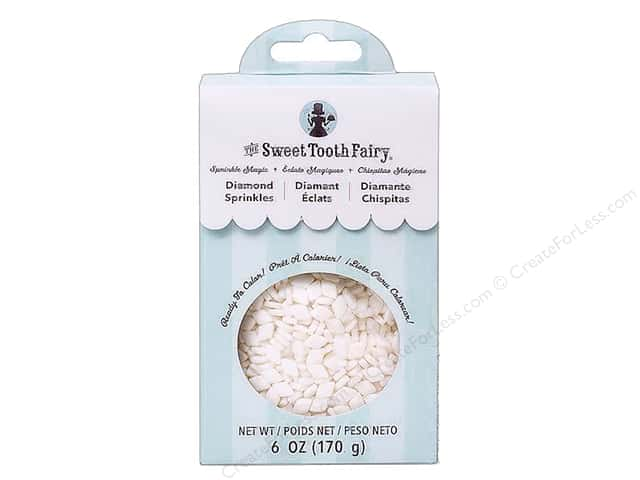 American Crafts Sweet Tooth Fairy Diamonds White 6 oz