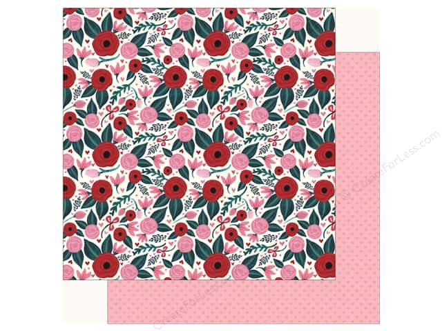 Carta Bella Collection Hello Sweetheart Paper 12 in. x 12 in. Floral (25 pieces)