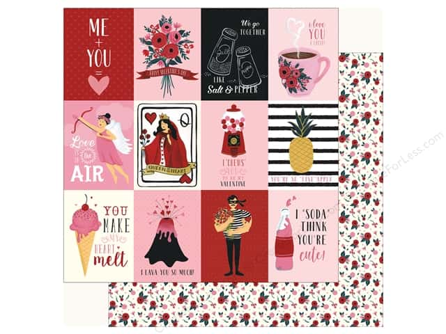 Carta Bella Collection Hello Sweetheart Paper 12 in. x 12 in. Journal Card 3 in. x 4 in. (25 pieces)