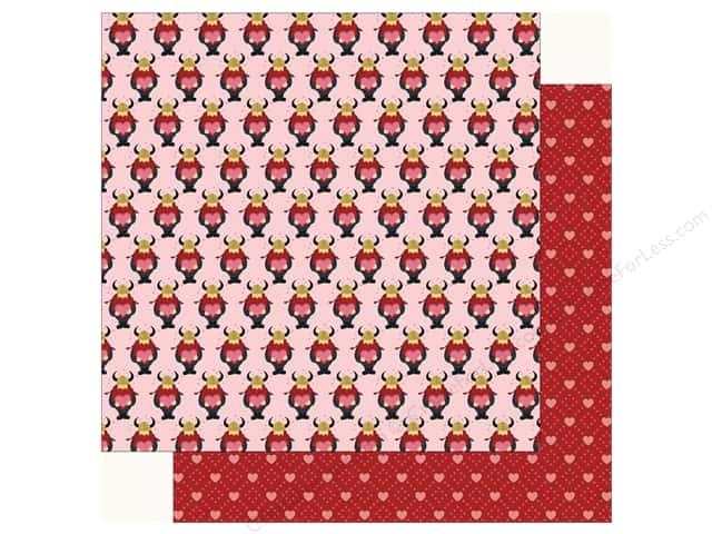 Carta Bella Collection Hello Sweetheart Paper 12 in. x 12 in. Special Delivery (25 pieces)