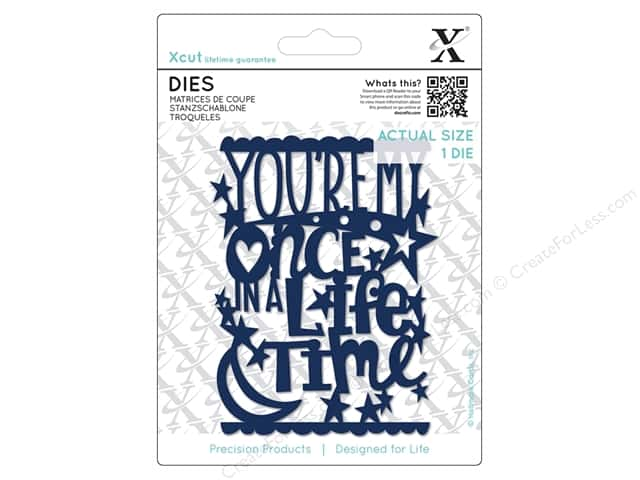 Docrafts Xcut Die Once In A Lifetime