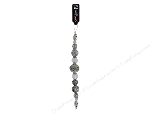 Jesse James Bead Strand #1 Neutral Gray