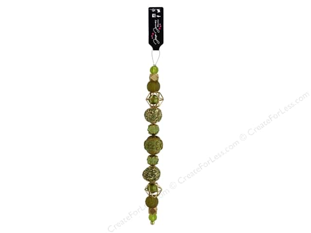Jesse James Bead Strand #1 Golden Lime