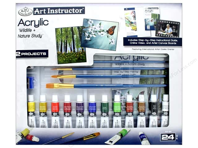 Royal Art Instructor Acrylic Paint Set