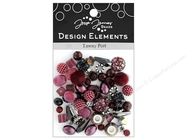 Jesse James Bead Design Element Tawny Port