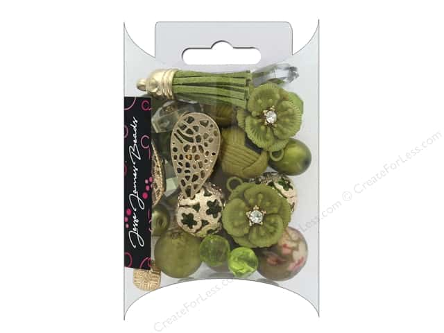 Jesse James Bead Inspirations Golden Lime