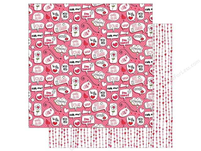 Photo Play Love Notes Paper 12 in. x 12 in.  Swoon (25 pieces)