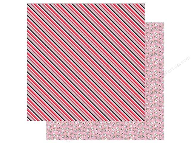 Photo Play Love Notes Paper 12 in. x 12 in. Crush