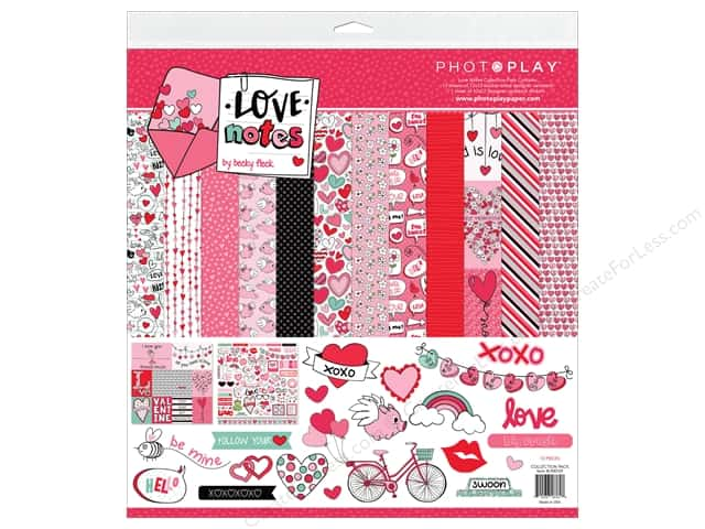 Photo Play Love Notes Collection Pack 12 in. x 12 in.
