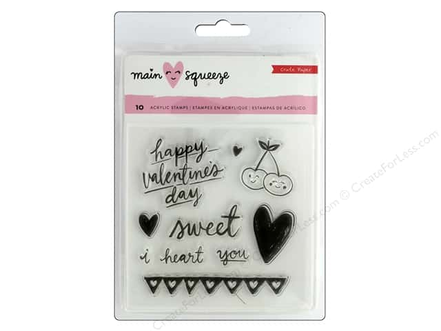 Crate Paper Collection Main Squeeze Clear Stamp Small