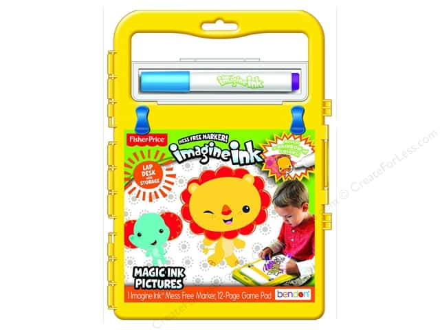 Bendon Magic Ink Fisher Price Carry Along Desk Book