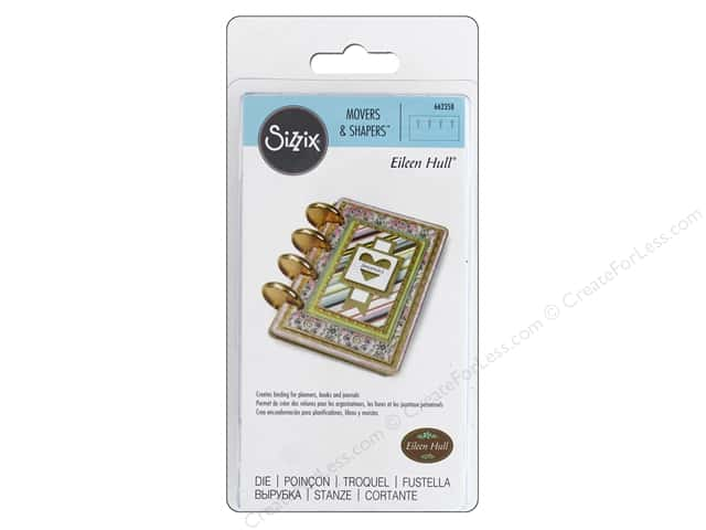 Sizzix Dies Eileen Hull Movers & Shapers Magnet Book Binding