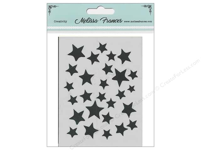 Melissa Frances Stencil 3 in. x 4 in. Star Shower