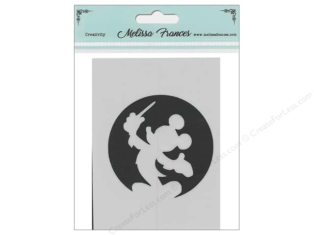 Melissa Frances Stencil 3 in. x 4 in.  Mouse Wand